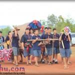 รวมภาพเก็บตก บรรยากาศ งานลอยกระทงนาคู ฟื้นฟูสนามบินเสรีไทย 2555