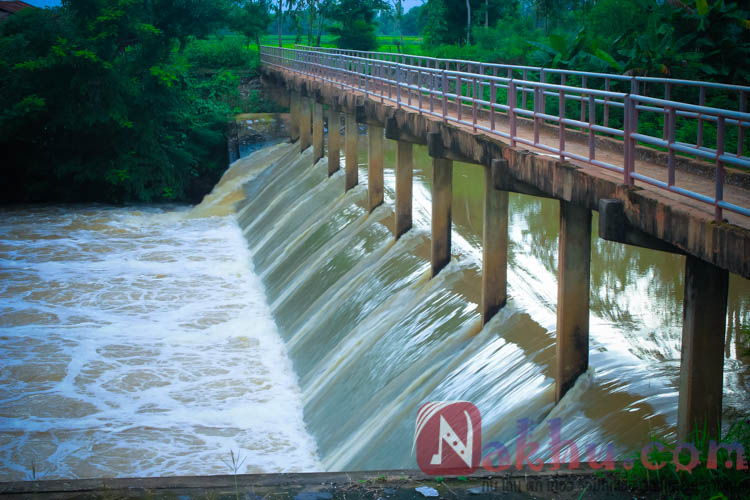 ฝายน้ำล้น ห้วยยางตอนบน บ้านนาคู ม.9-9
